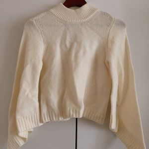 Anthropologie moth bell sleeves sweater Size S